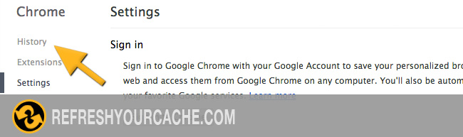 Chrome Step 3 (mac)