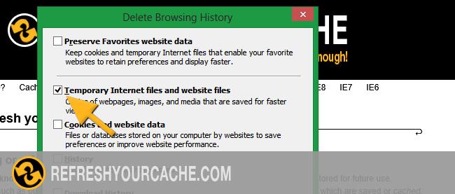 vider données en cache