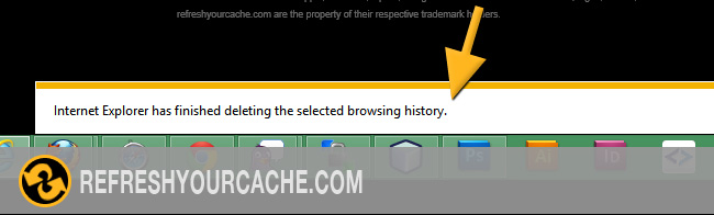 Refresh the cache for Internet Explorer 11 - Refreshyourcache com
